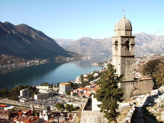 Kotor, Montenegro: View from wall climb