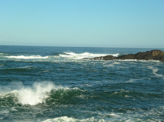 Орегон: Northern part of Depoe Bay
