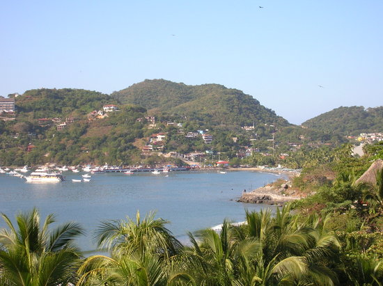 Ixtapa, : Zihua Harbor