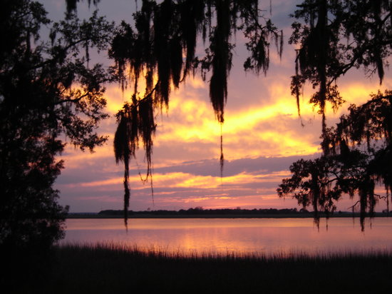 Jekyll Island, GA: Beautiful Jekyll Sunsets at the Bay