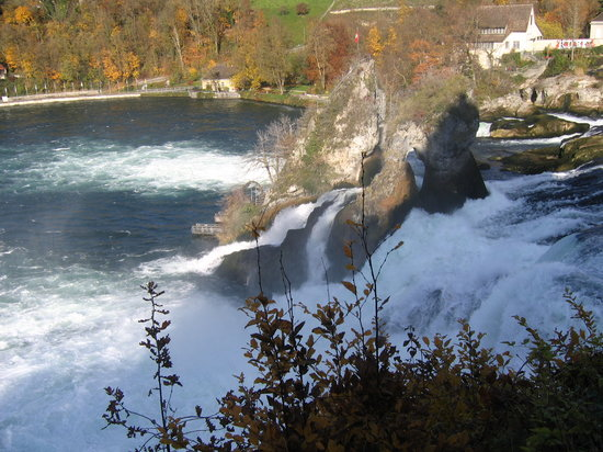 Schaffhausen, : Rhinefall