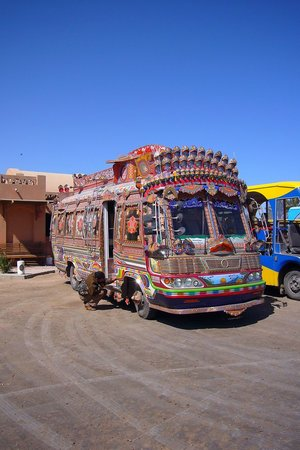 El Gouna, Egypt: The new buses
