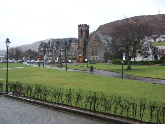 Fort William town
