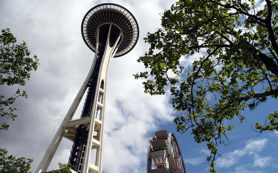 SeaTac, Etat de Washington : Seattle Space Needle