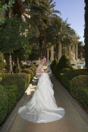 Las vegas wedding package caesars palace city