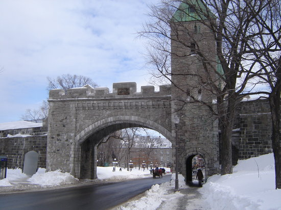 Quebec City, Canada: One of the gates into Old Quebec