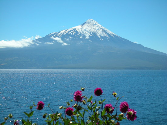 Seengebiet, Chile: Lake Llanquihue, near Puerto Varas