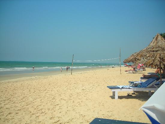 Colva, Inde : Local beach