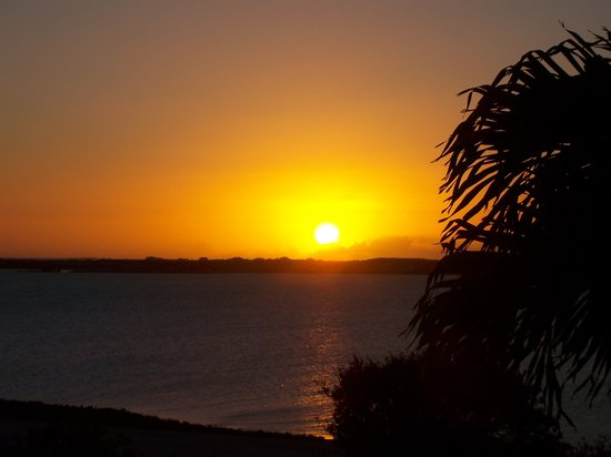Providenciales: Sunset at Sunshine house