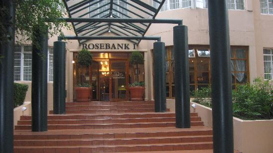 Don Rosebank: hotel facade, steps going up
