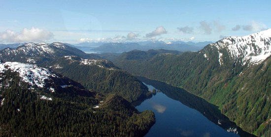 Ketchikan, AK: am flight over Misty Fjords