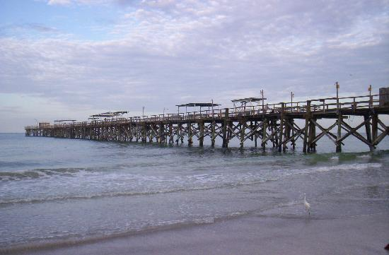 North Redington Beach, Φλόριντα: The Pier view from Grand Shores