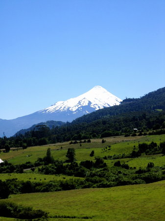Puerto Varas, Chile: View on the horseback ride