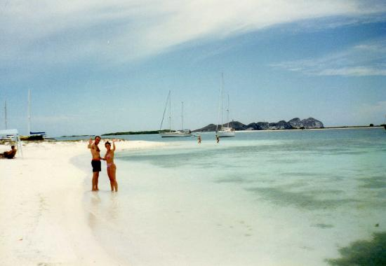 Isla El Gran Roque, Wenezuela: Playas en las islas - LOS ROQUES (VENEZUELA)