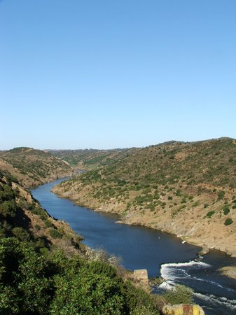 Portugal : Guadiana river, Mértola