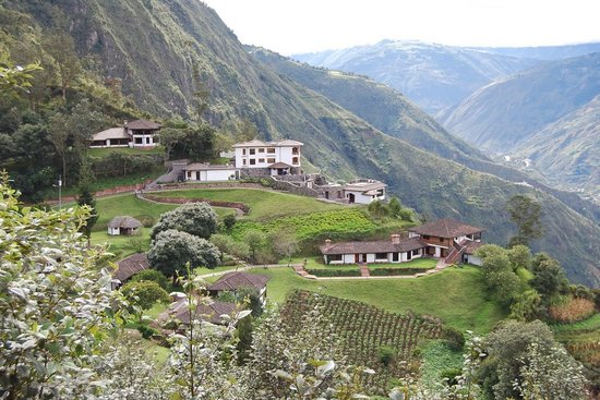 Banos, Ecuador: Overall view