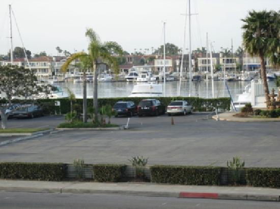 Holiday Inn Express Newport Beach: Bay view from king room