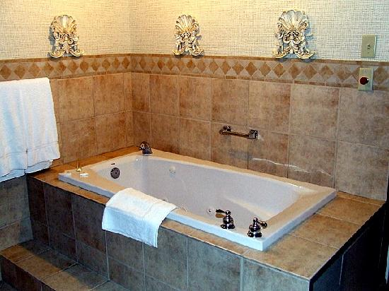The edges of the tub  if used as a shower  would leave water pooling around  the outside  especially if 3 sides are surrounded by tiled walls. Drop In Tub For Shower   Plumbing   DIY Home Improvement   DIYChatroom