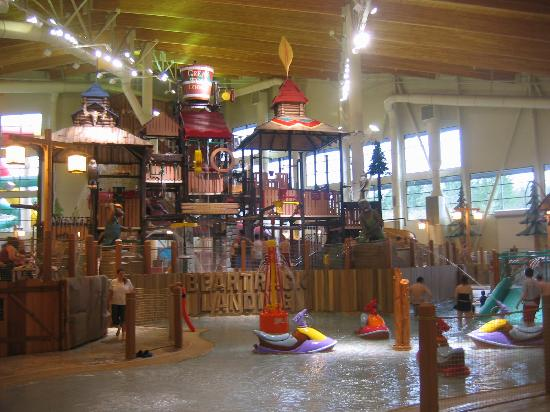 Centralia, WA: Inside the gorgeous waterpark!