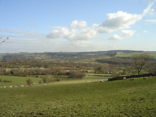 Matlock, UK: Another view from the farm