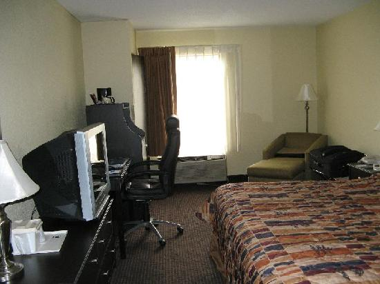 Comfort Inn South: My Room