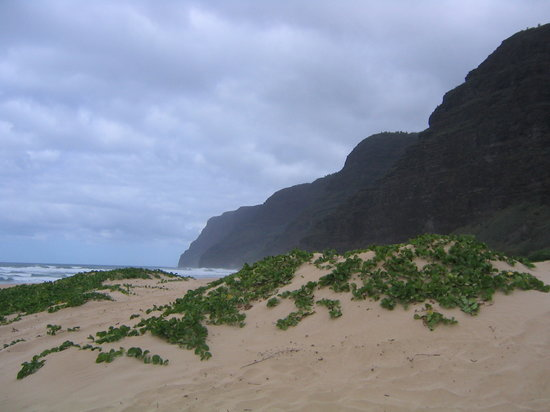 Waimea, HI: Polihale Beach