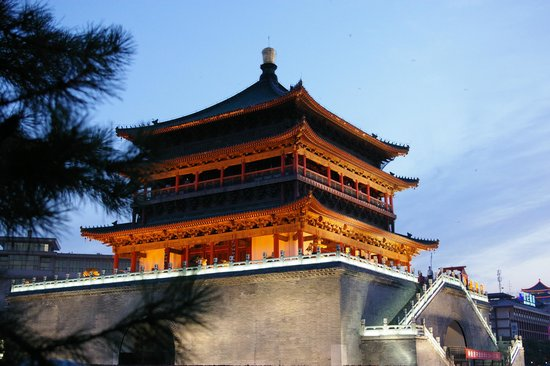 Xi'an, Chine : The Bell Tower