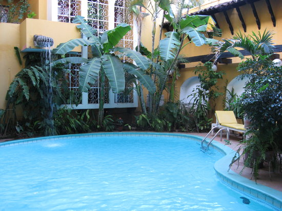 Pool at Hotel Alhambra
