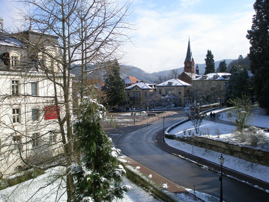 Badenweiler, Allemagne : view from balcony room 173 (1)