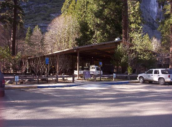 badger pass picture of yosemite lodge at the falls. Black Bedroom Furniture Sets. Home Design Ideas
