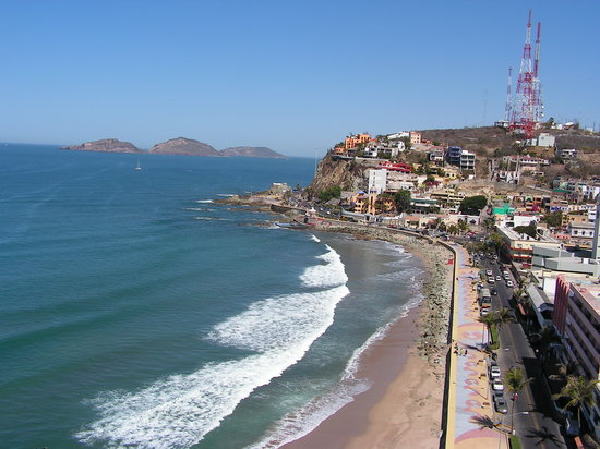 Mazatlan, Mexiko: View from Posada Freeman