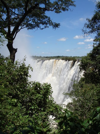 Livingstone, Zambia: The Falls