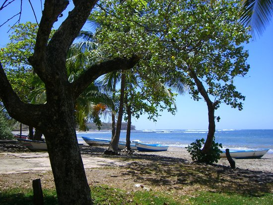 Santa Cruz, Costa Rica : A view of the little port 