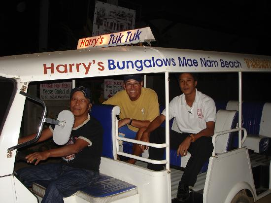 Harry&#39;s Bungalows &amp; Restaurant: Harry&#39;s Tuk Tuk