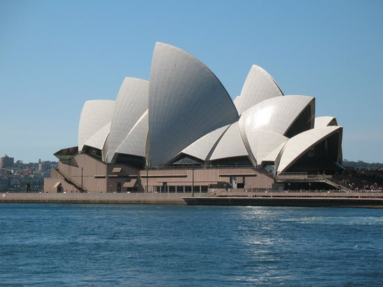 , : Sydney Opera House view from Harbour cruise