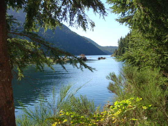 Clayoquot Wilderness Resort: view from our tent deck