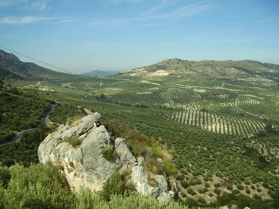 Jaen, Spagna: Stunning scenery near the house