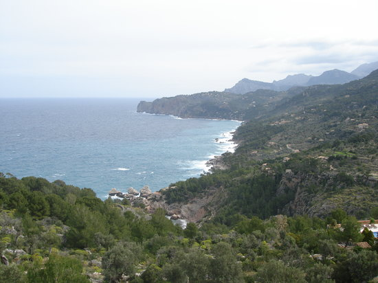 Deia, Spanien: The view from the sea view suite