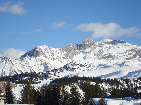 Courchevel, Prancis: location is amazing