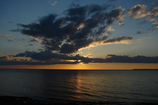 Door County, WI: Sunset at