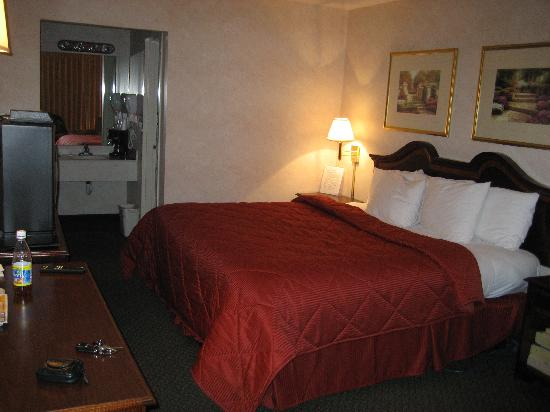 Comfort Inn Tysons Corner: Interior of Room