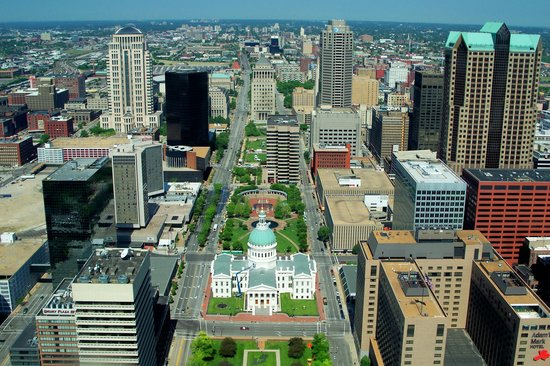 Saint Louis, MO: Fantastic views