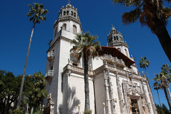 Front of Hearst Castle