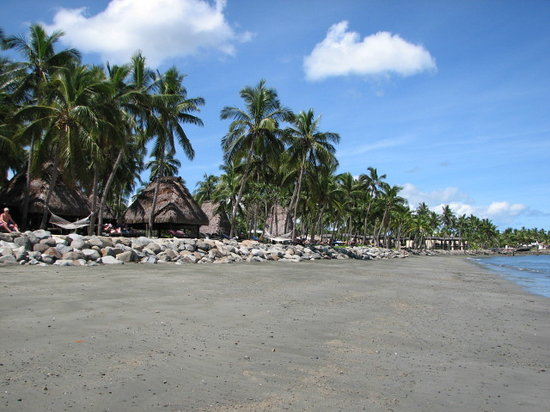 Denarau Island, Fiji: looking toward the resort area