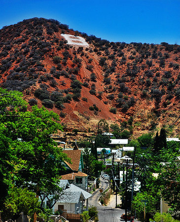 Bisbee, : B Hill