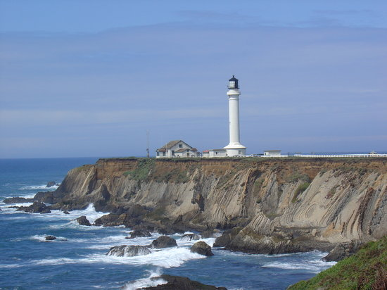 Gualala, Californien: Point Arena Light House