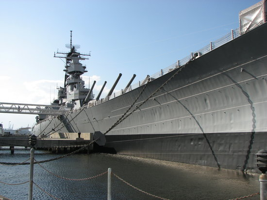 Norfolk, VA: USS Wisconsin