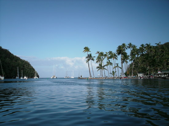 Baie de Marigot, Sainte-Lucie : Marigot Bay 