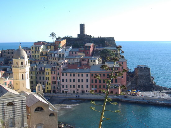 Riomaggiore, Italien: made it worth it