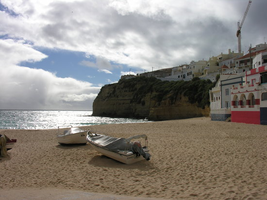 Carvoeiro, Portugal : Playa